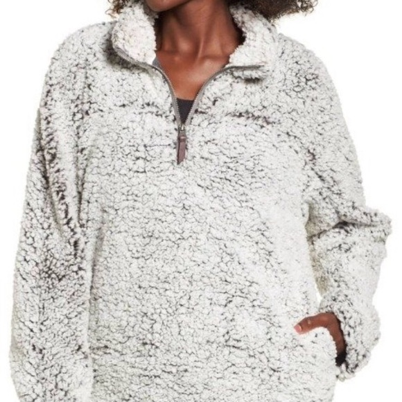 NWT Thread and Supply Sherpa Pullover Sweater